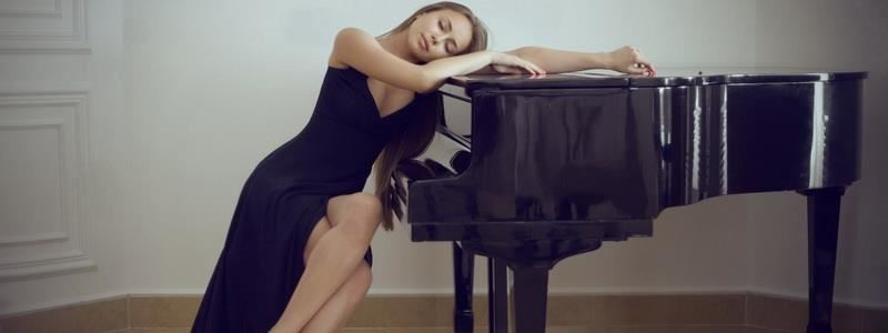 Sleeping On Piano
