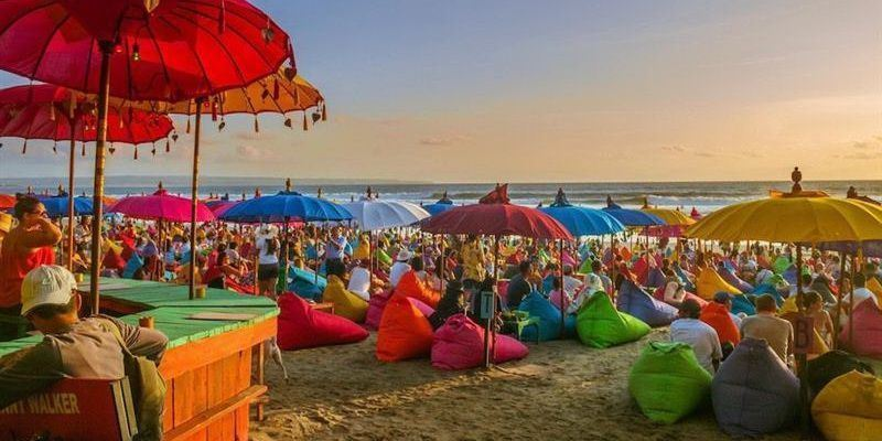 Seminyak Beach - The white sand land